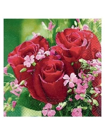 Serwetki ozdobne - Róże