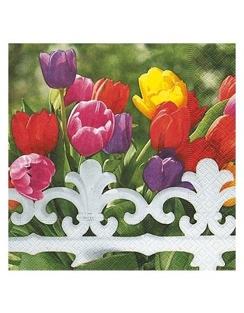 Serwetki ozdobne -  Tulipany