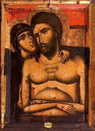Ikona Pieta. Nie opłakuj Mnie, Matko - Domowa kolekcja najpiękniejszych ikon : Reprodukcja