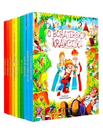 Ilustrowana kolekcja baśni. Komplet 10 książek