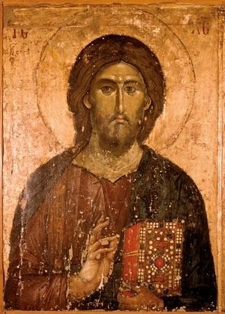 Ikona Chrystus Odkupiciel. Pantokrator - Domowa kolekcja najpiękniejszych ikon : Reprodukcja