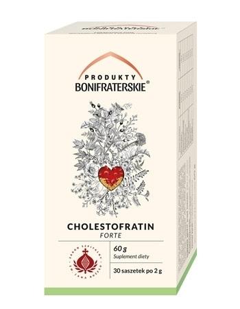 Cholestofratin Forte. Suplement diety 60 g (30 saszetek po 2 g) : Preparaty ziołowe