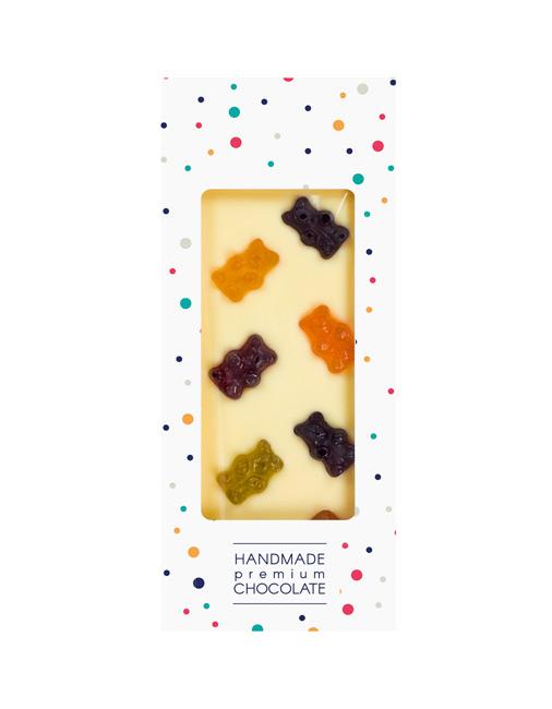 Czekolada biała z żelkami owocowymi - Aromat i Smak