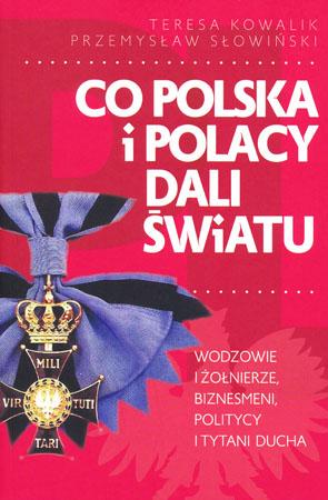 Co Polska i Polscy dali światu - Teresa Kowalik, Przemysław Słowiński