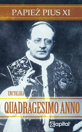 Quadragesimo anno – Pius XI