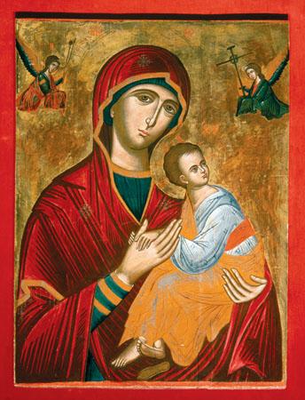 Ikona Matka Boża. Hodegetria
