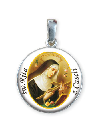 Medalion Św. Rita z Cascii