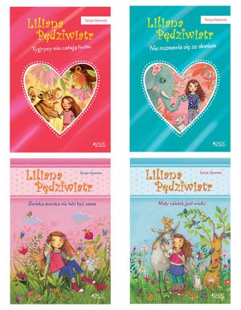 Liliana Pędziwiatr. Komplet 4 książek - Tanya Stewner