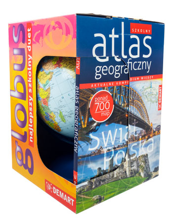 Globus + Atlas. Szkolny duet