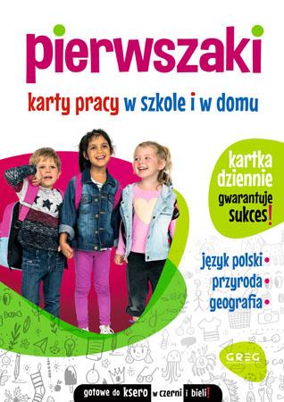 Pierwszaki. Karty pracy w szkole i w domu - Marta Kurdziel