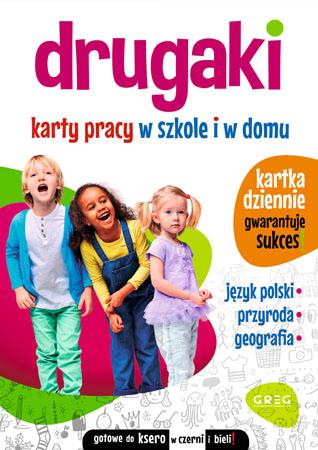 Drugaki. Karty pracy w szkole i w domu - Marta Kurdziel