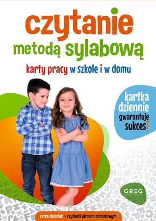 Czytanie metodą sylabową. Karty pracy w szkole i w domu - Alicja Karczmarska-Strzebońska