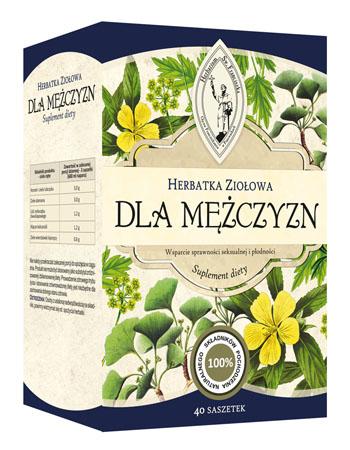 Herbatka ziołowa dla mężczyzn, 120 g (40 saszetek po 3 g)