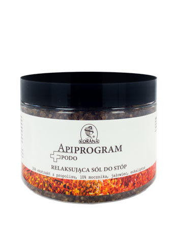 Apiprogram. Relaksująca sól do stóp, 500 g