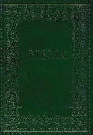 biblia podróżna - okładka zielona