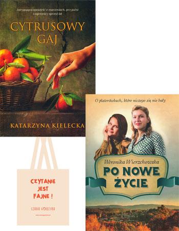 Cytrusowy gaj + Po nowe życie - Katarzyna Kielecka, Weronika Wierzchowska - pakiet powieści