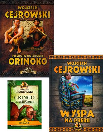 Podróże Wojciecha Cejrowskiego. Komplet 2 książek - Wojciech Cejrowski