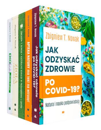 Wielka kolekcja zdrowia. Komplet 5 książek - Zbigniew T. Nowak