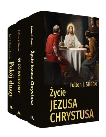 Dzieła wybrane - abp Fulton J. Sheen - komplet 3 książek