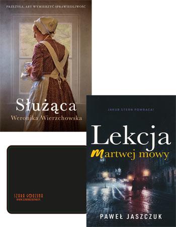 Służąca + Lekcja martwej mowy - Weronika Wierzchowska + Paweł Jaszczuk : Powieści : Beletrystyka