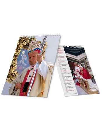 Kalendarz Papieski Maryjny 2022 (na spirali)