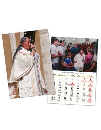 Kalendarz Papieski Rodzinny 2022 (szyty)
