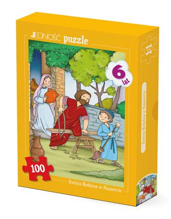 Święta Rodzina w Nazarecie. Puzzle