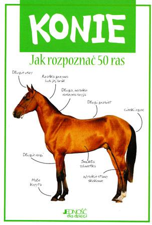 Konie. Jak rozpoznać 50 ras - Camilla de la Bedoyere