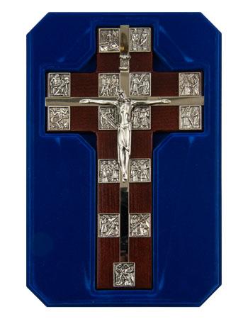 Krzyż wiszący z Drogą Krzyżową