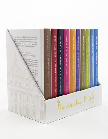 Benedykt XVI. Komplet 10 książek