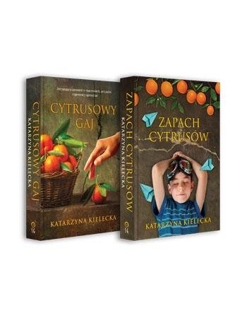 Zapach cytrusów + Cytrusowy gaj. Komplet 2 książek - Katarzyna Kielecka