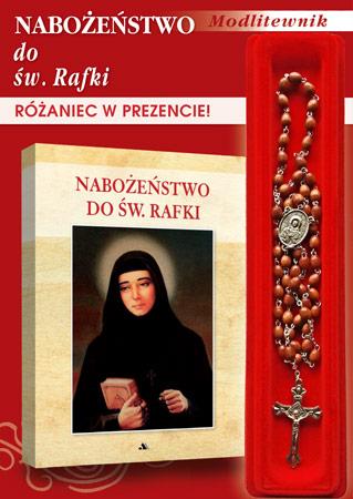 Nabożeństwo do św. Rafki. Modlitewnik z różańcem w prezencie!