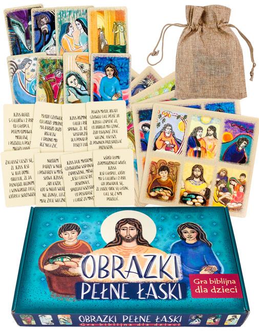 Obrazki pełne łaski. Gra biblijna dla dzieci