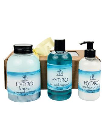 Zestaw kosmetyków Hydro w prezentowym pudełku : Korana