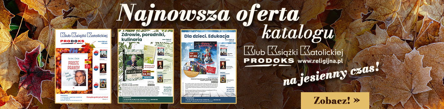 Październikowe wydanie katalogu Klubu Książki Katolickiej Prodoks!